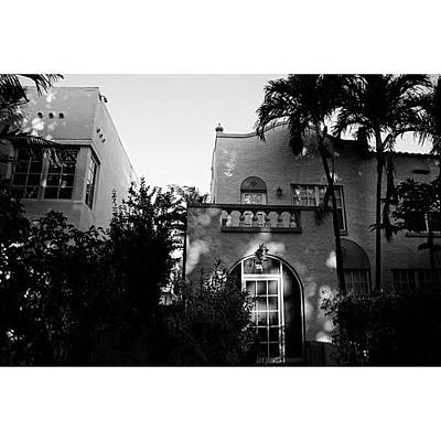 Architecturelovers Photograph - {miami Beach's Art Deco}  In 1979 by Joel Lopez