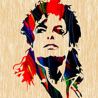 Michael Jackson Painting Art Print by Marvin Blaine