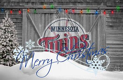 Photograph - Minnesota Twins by Joe Hamilton