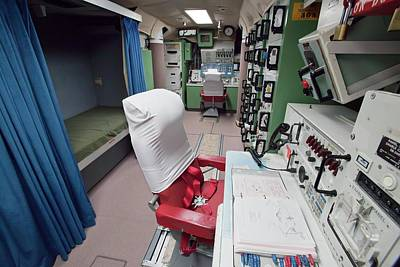 Minuteman Photograph - Minuteman Missile Control Room by Jim West