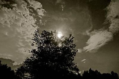 Abstract Graphics - Moon  by Frank Conrad