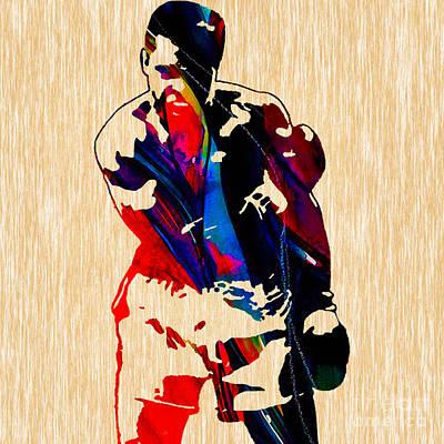 Cassius Clay Mixed Media - Muhammad Ali by Marvin Blaine