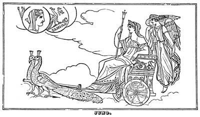 Hera Painting - Mythology Hera/juno by Granger