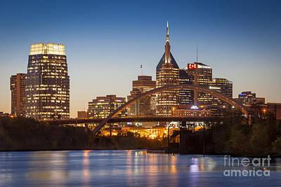 Photograph - Nashville Skyline by Brian Jannsen