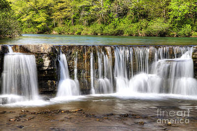 Natural Dam Falls Art Print by Twenty Two North Photography