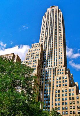 Manhattan Photograph - New York City by Micheal Marciante