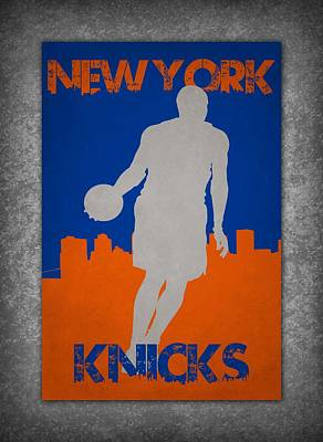 Baskets Photograph - New York Knicks by Joe Hamilton