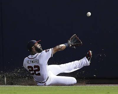Photograph - New York Mets V Atlanta Braves by Mike Zarrilli