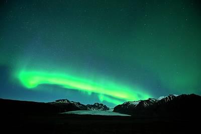 Night Cap Photograph - Northern Lights by Jeremy Walker