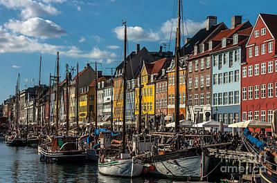 Photograph - Nyhavn by Jorgen Norgaard