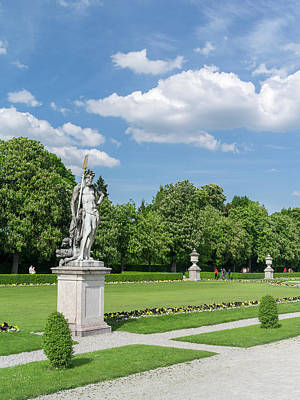Nymphenburg Palace And Park In Munich Art Print by Martin Zwick