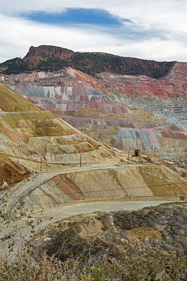 Open-cast Copper Mine Art Print by Jim West
