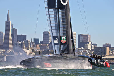 Ultimate Luxury Photograph - Oracle America's Cup Winner by Steven Lapkin