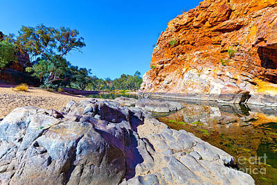 1-war Is Hell Royalty Free Images - Ormiston Gorge Royalty-Free Image by Bill  Robinson