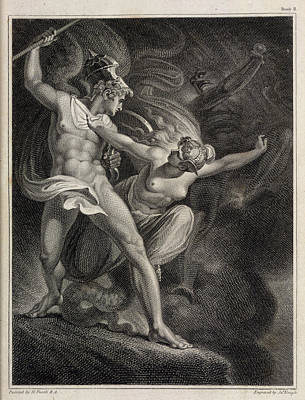 Paradise Lost Art Print by British Library