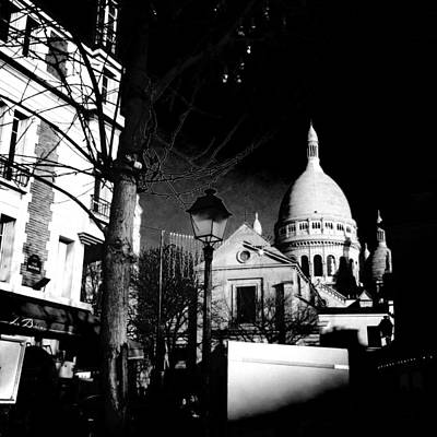 Paris Skyline Royalty-Free and Rights-Managed Images - Paris - Montmartre by Vincent Leprince