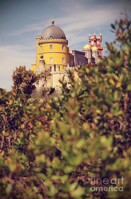 Red Rock Photograph - Pena Palace by Carlos Caetano