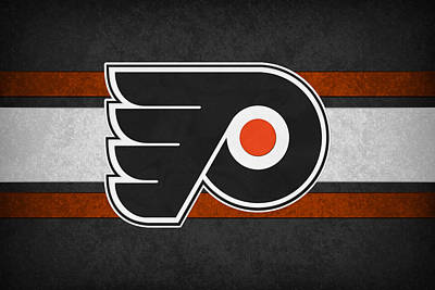 Philadelphia Flyers Art Print by Joe Hamilton