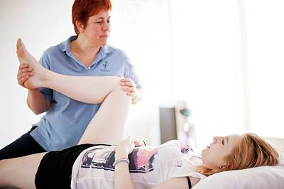 Manipulation Photograph - Physiotherapy Session by Dan Dunkley