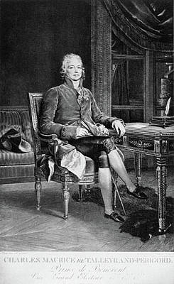 Painting - Prince Talleyrand (1754-1838) by Granger