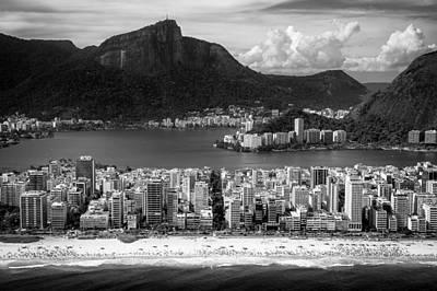 Rio De Janeiro City Art Print