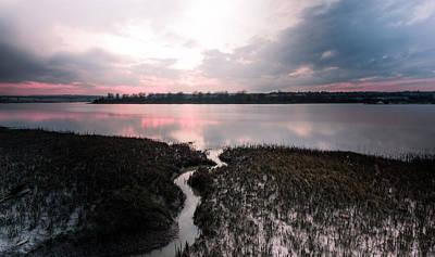 River Medway Sunset Art Print
