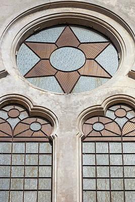 Synagogue Photograph - Romania, Black Sea Coast, Constanta by Walter Bibikow