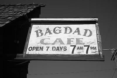 Route 66 - Bagdad Cafe Art Print by Frank Romeo