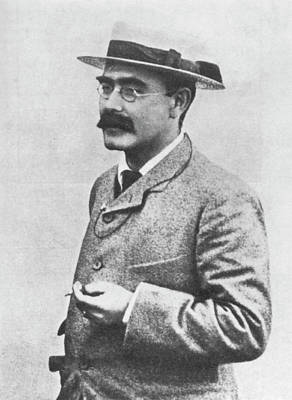 Photograph - Rudyard Kipling (1865-1936) by Granger