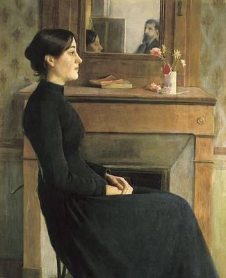 Rusi�ol I Prats, Sainttiago 1861-1931 Art Print