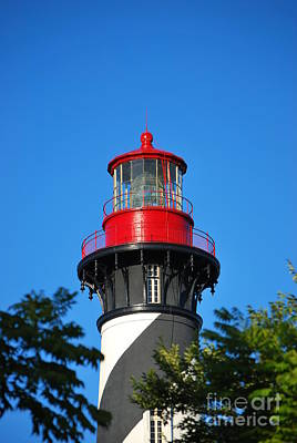 Photograph - Saint Augustine Lighthouse by Bob Sample