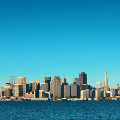 Photograph - San Francisco Skyline by Songquan Deng