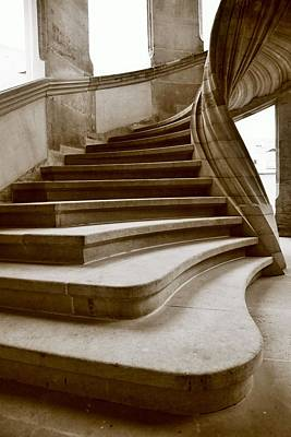 Modern Man Surf Royalty Free Images - Sand stone spiral staircase Royalty-Free Image by Falko Follert