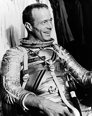 Scott Carpenter Print by Nasa