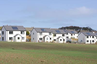 Suburban Photograph - Scottish Houses by Tom Gowanlock