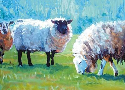 Sheep Original by Mike Jory