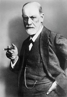 Psychoanalyst Photograph - Sigmund Freud (1856-1939) by Granger