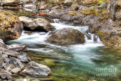 Sol Duc River Art Print by Twenty Two North Photography