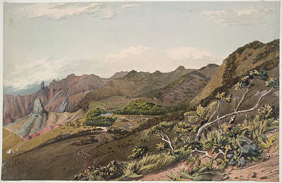 St Helena Photograph - St. Helena by British Library