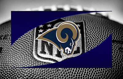 Rams Photograph - St Louis Rams by Joe Hamilton