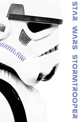 Star Wars Stormtrooper Art Print by Tommytechno Sweden