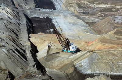 Surface Coal Mine Art Print