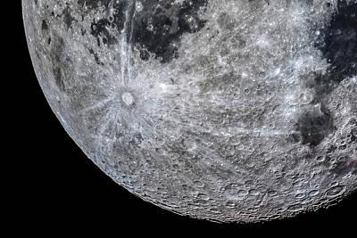 Surface Of The Moon Art Print by Babak Tafreshi