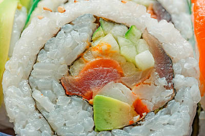 Photograph - Sushi by Peter Lakomy