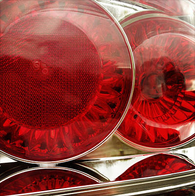 Tail Photograph - Tail Lights by Les Cunliffe