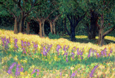 Painting - Texas Gold by Carolyn Donnell