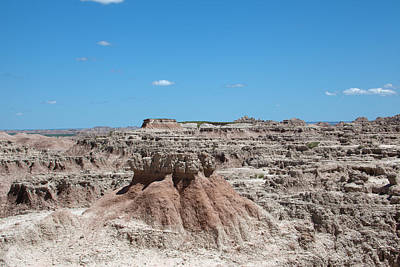 Photograph - The Badlands by Scott Sanders
