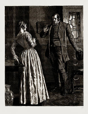 The Mayor Of Casterbridge, Drawn By Robert Barnes Art Print by Litz Collection