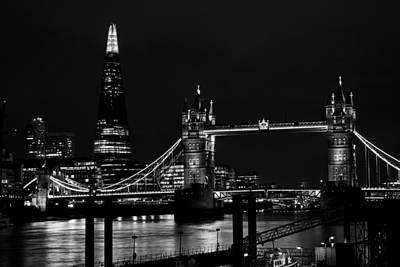 The Shard And Tower Bridge Art Print