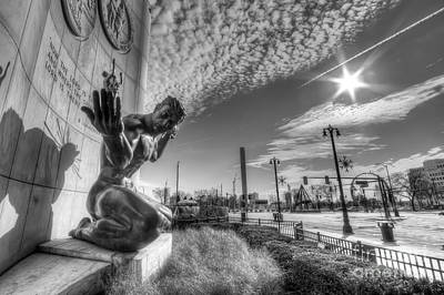 The Spirit Of Detroit Art Print by Twenty Two North Photography